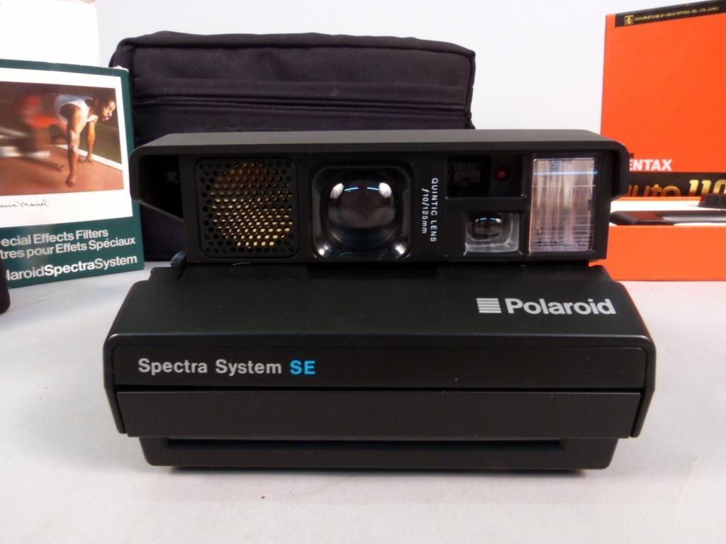 392: Pentax SLR System & Polaroid Spectra System SE - 2