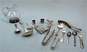163 Lot Assorted Silver Plated Articles