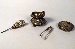Assorted Lot of Silver Objects