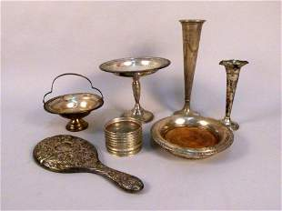 Assorted Sterling Silver Mounted Articles
