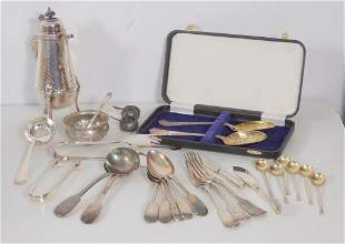 Assorted Silver & Silver Plated Articles