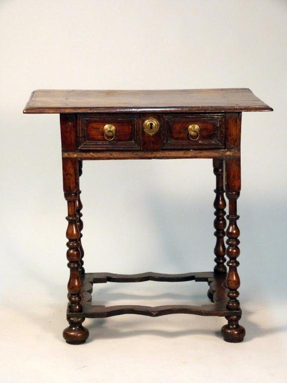 187: Antique William & Mary Work Table
