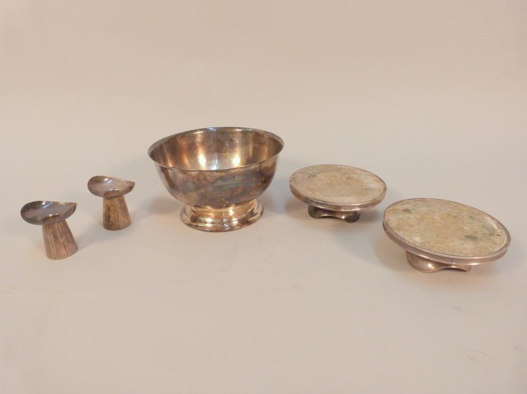 16: 4 Danish Silver Plated Articles