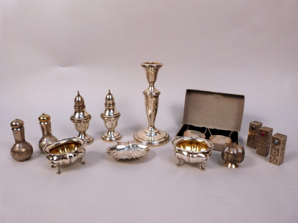 4: Assorted Silver Articles