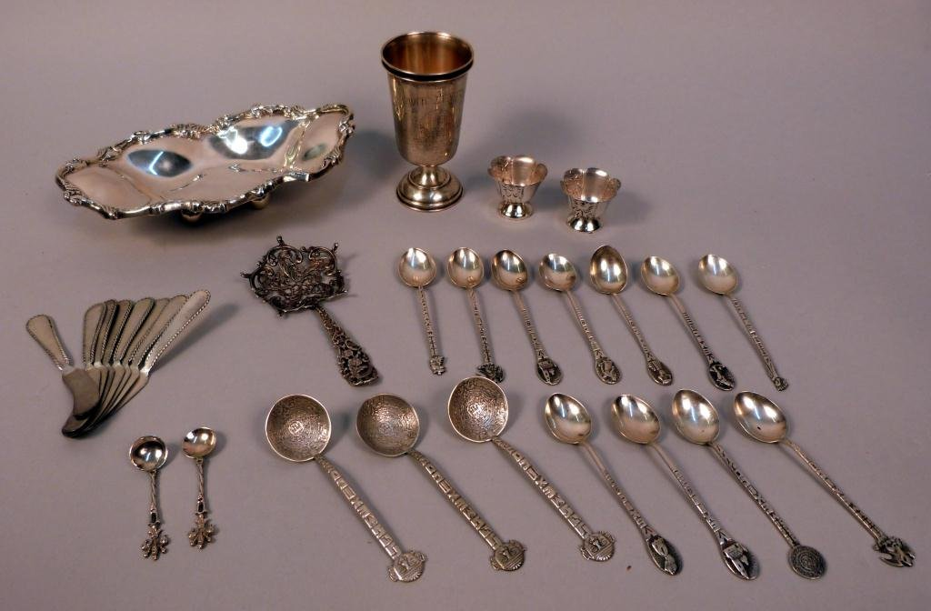 16: Assorted Sterling Silver Articles