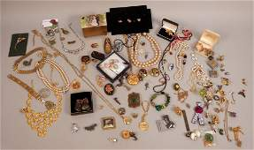 59 Large Assorted Costume Jewelry