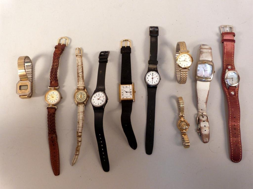 10: Assorted Ladies Watches & Casual Watches