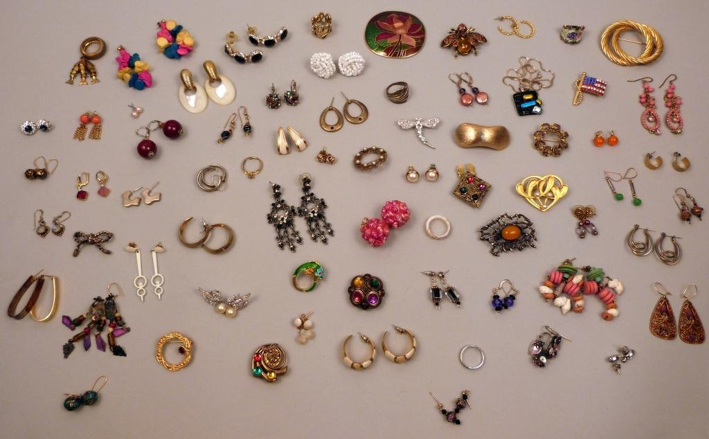 12: Assorted Costume Jewelry