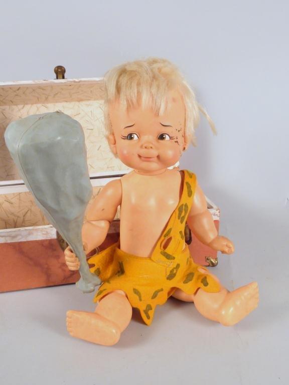 298: Vintage Flintstones Bam Bam Doll