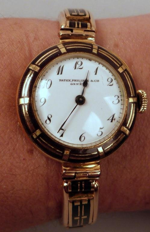 20: Patek Philippe Women's 18K Watch