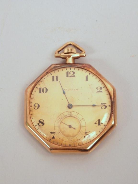 13: Vintage Waltham Mans Pocket Watch **