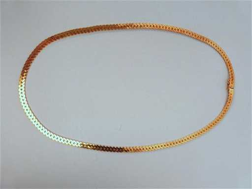 53 14k Gold Italy 585 Necklace See Sold Price