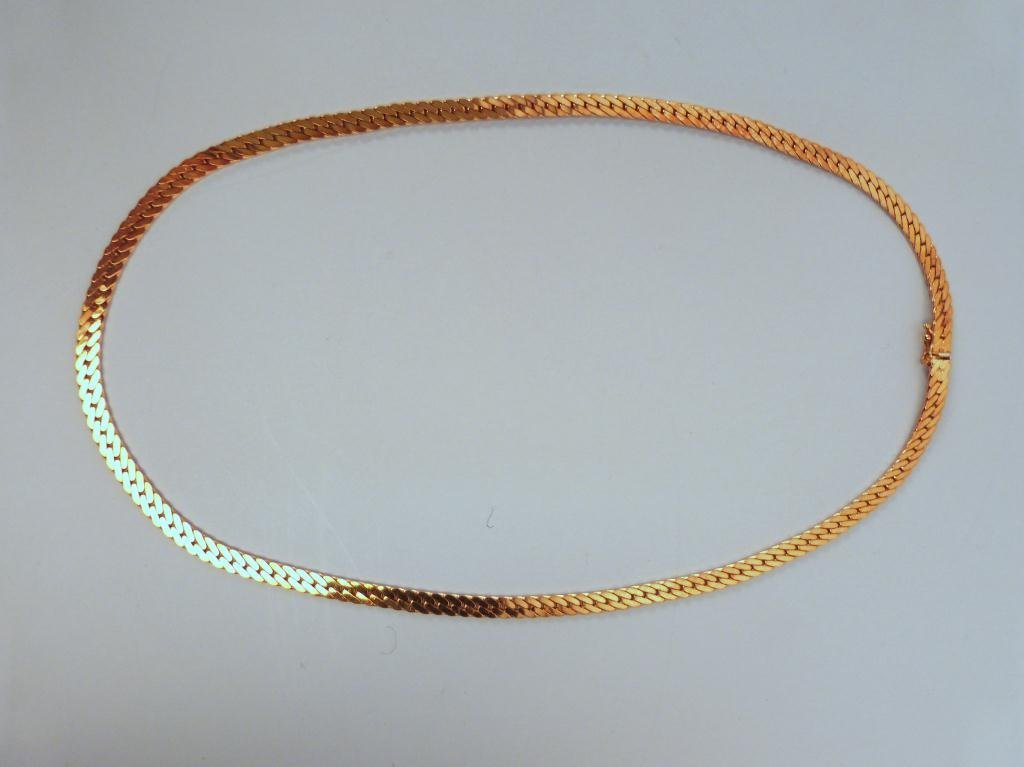 53: 14K Gold (Italy 585) Necklace