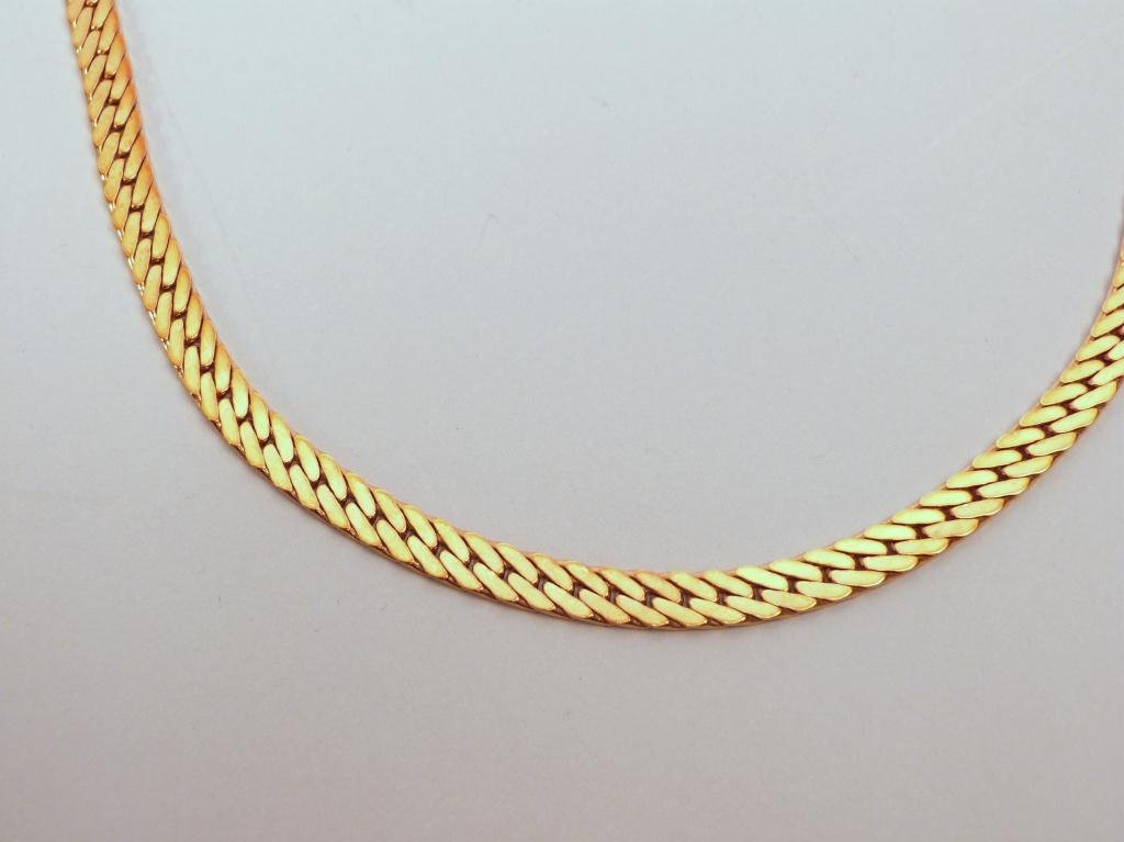 53: 14K Gold (Italy 585) Necklace - 2