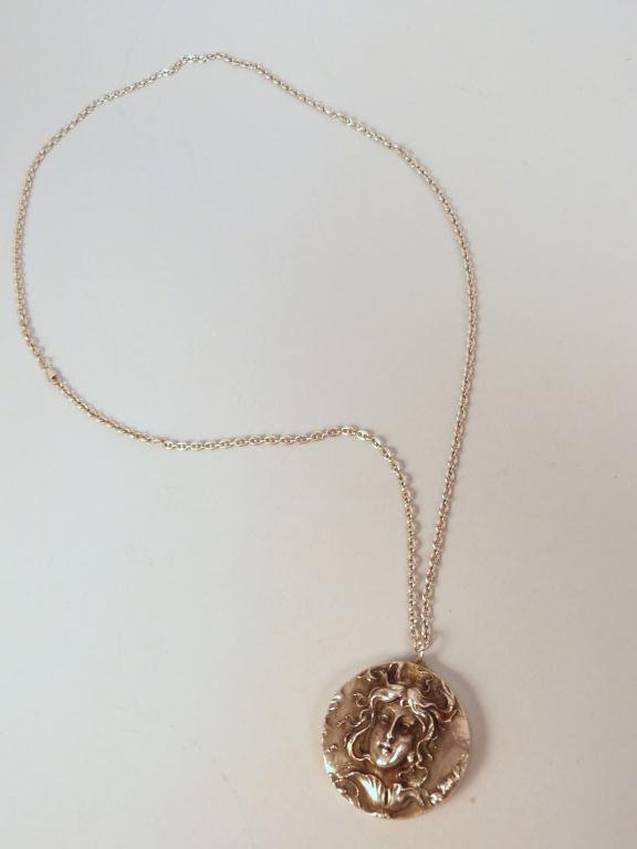 10: Henryk Winograd Silver Pendant Necklace