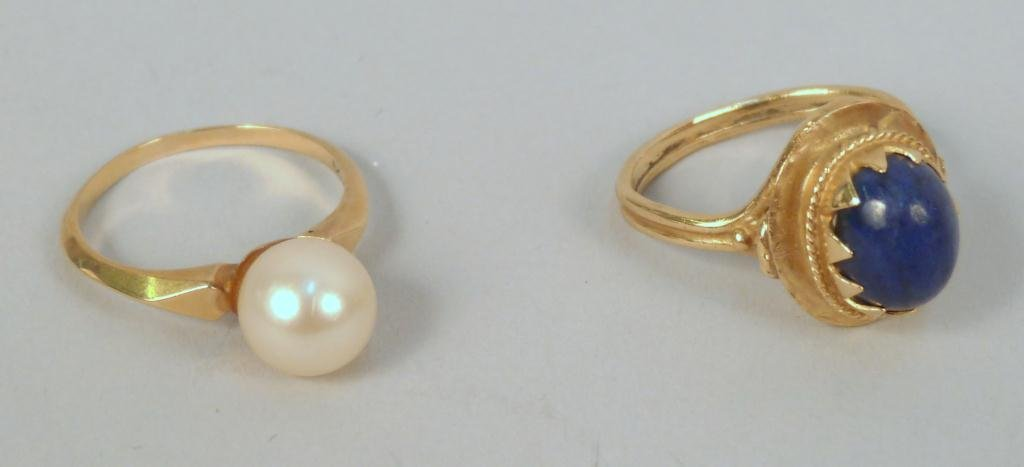 12: Two 14K Gold Rings