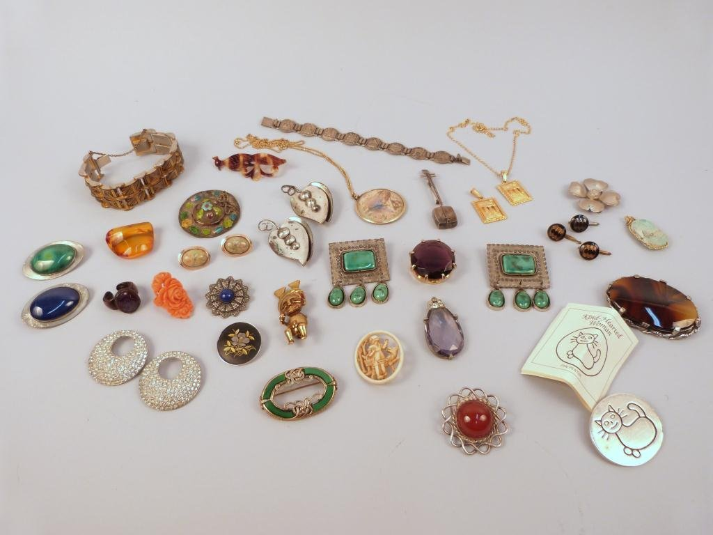 23: Assorted Costume Jewelry Including CORO