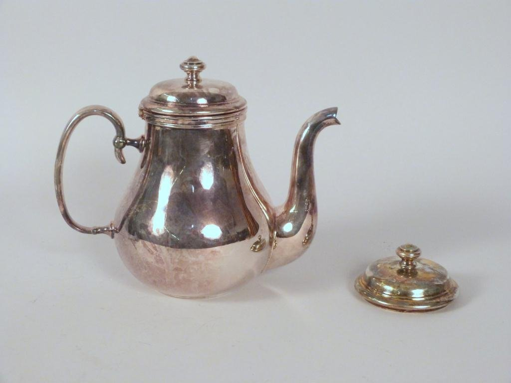 Christofle Teapot with Additional Matching Lid
