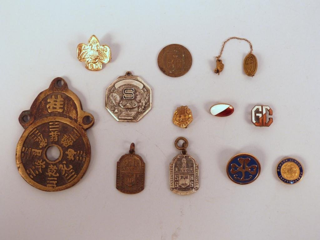 Assorted Metal Pins etc.