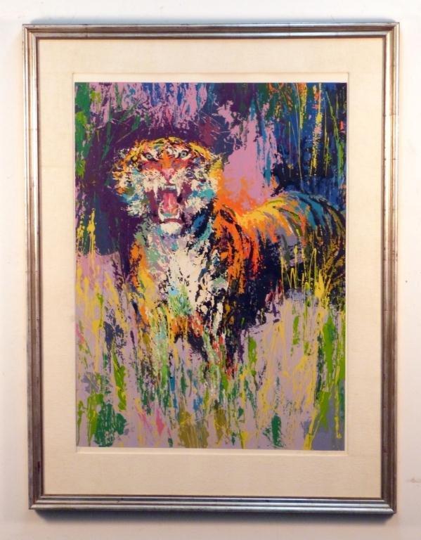 LeRoy Neiman Serigraph - Bengal Tiger