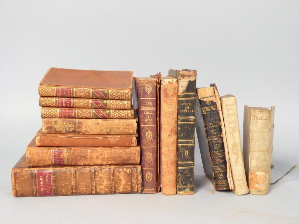 Assorted Small Leather Bound Books