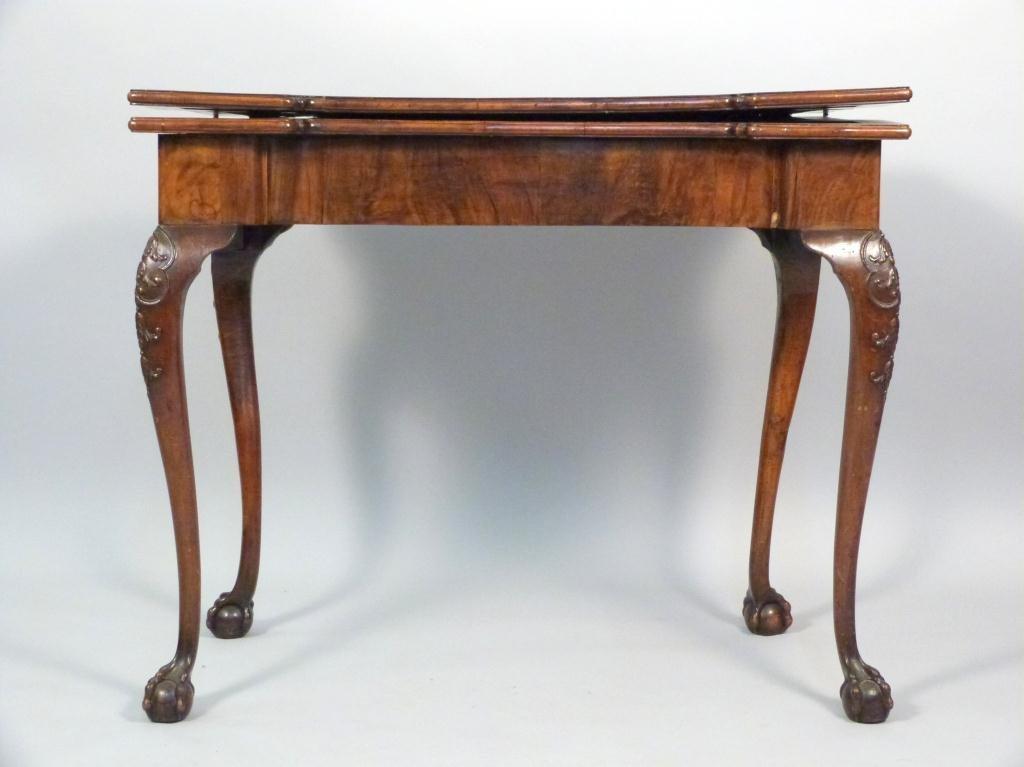 Antique English George III Card Table