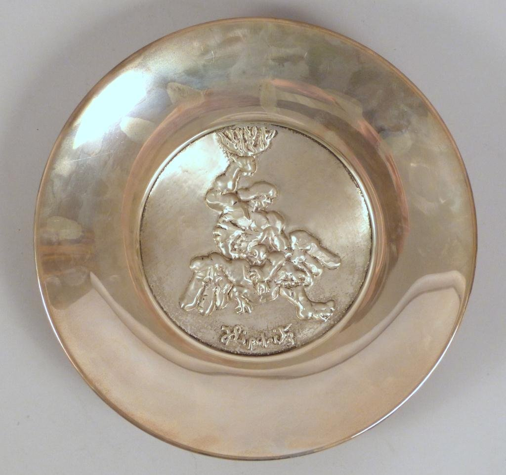 Liberty Mint Sterling Silver Plate