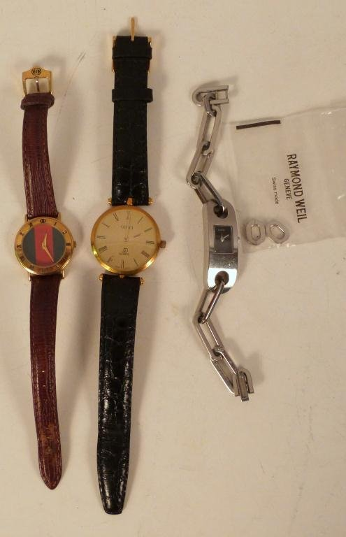 3 Vintage Gucci Watches