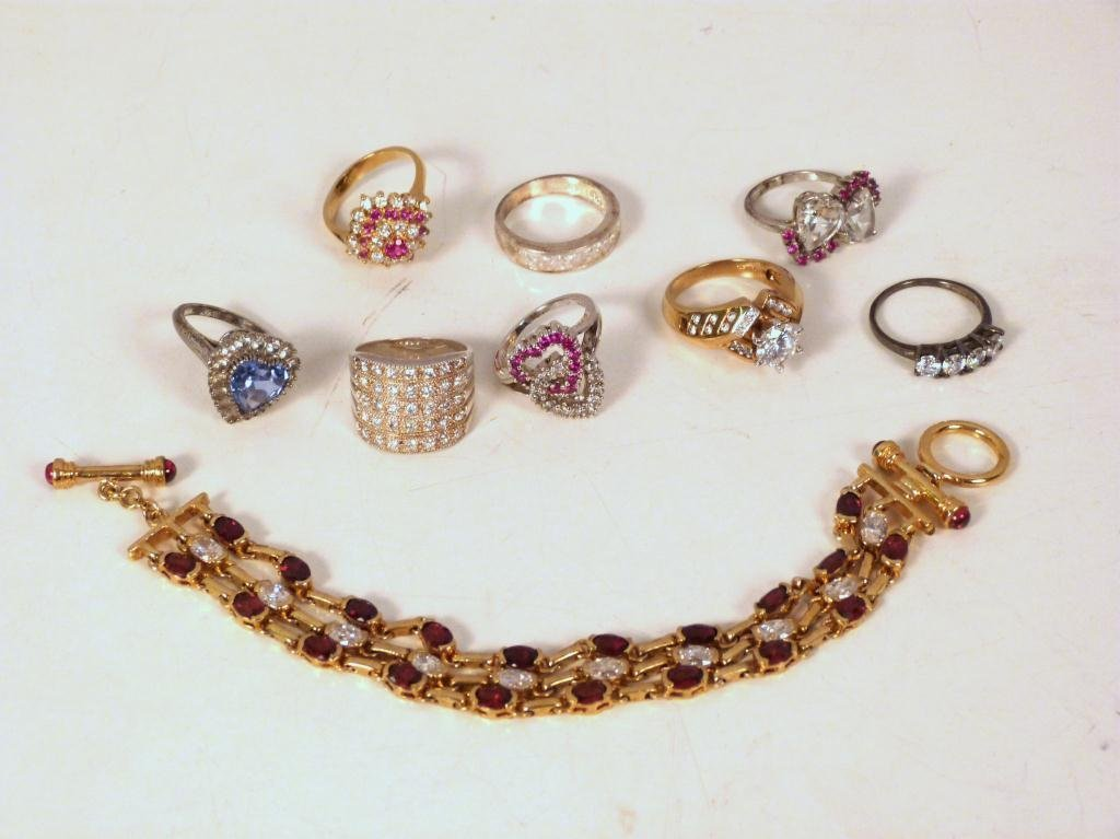 Assorted Sterling Silver Jewelry