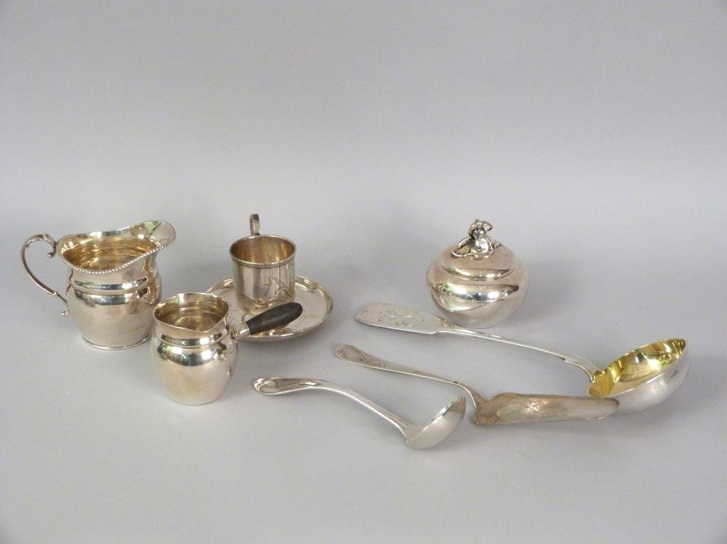 Assorted Sterling & Silver Articles