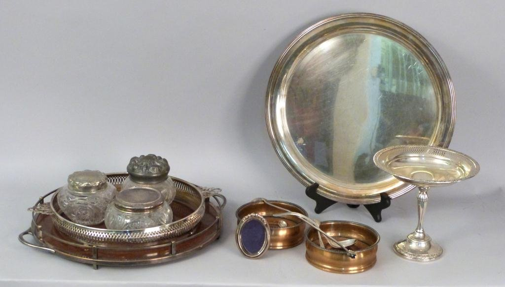 Assorted Silverplate and Sterling Articles
