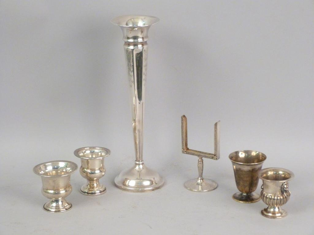 6 Sterling and Silverplated Articles