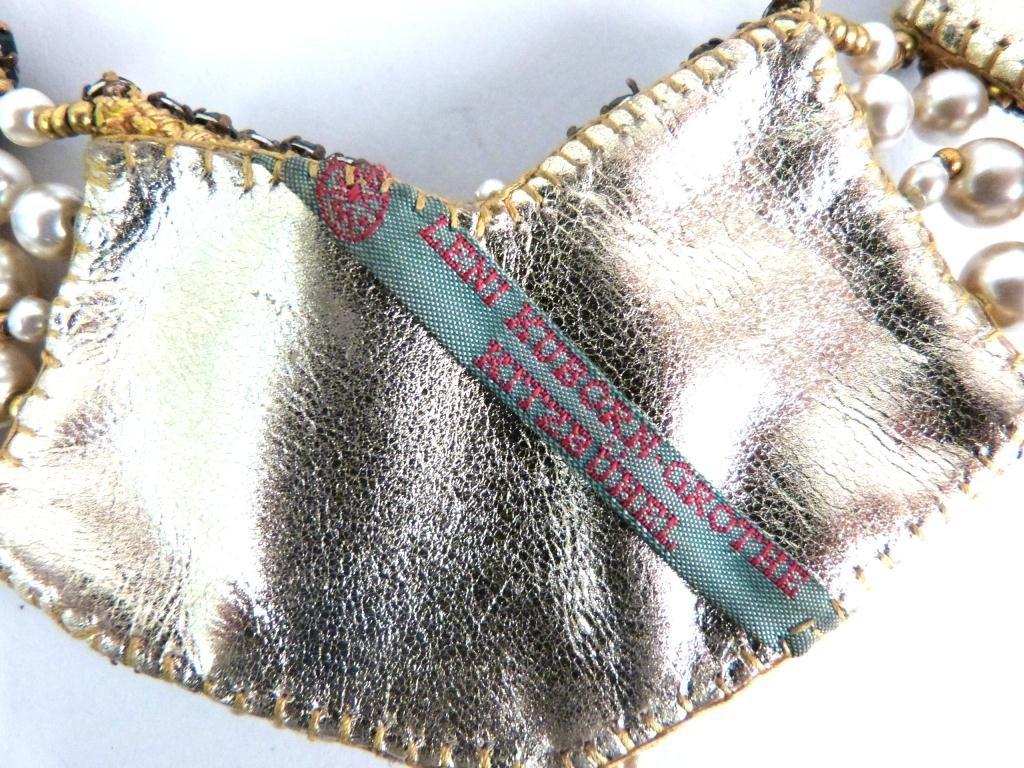 "Costume Jeweled Glitzy"" Jewelry Lot"" - 5"
