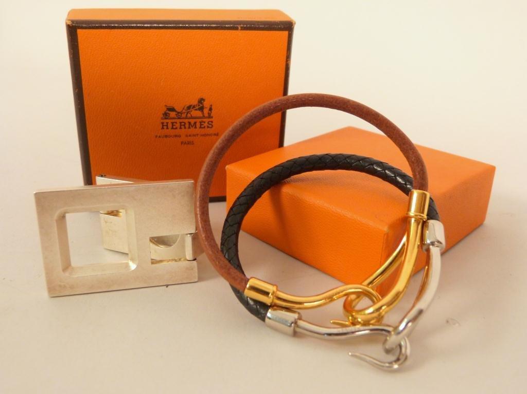 Hermes Bracelets and Magnifier