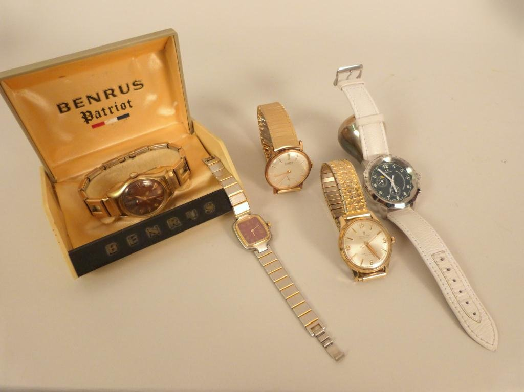 5 Assorted Wrist Watches