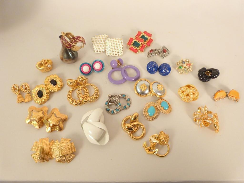 Large Assortment of Earrings