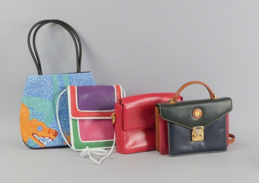 4 Assorted Ladies Handbags
