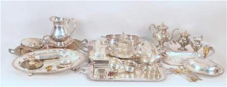 Large Lot of Assorted Silver Plated Articles