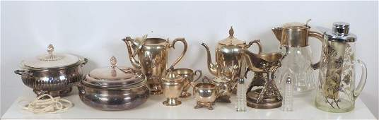 Assorted Silver Plated Articles