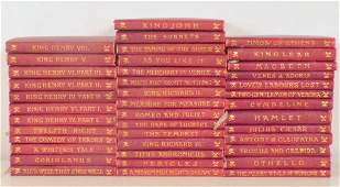 40 Volumes The Temple Shakespeare