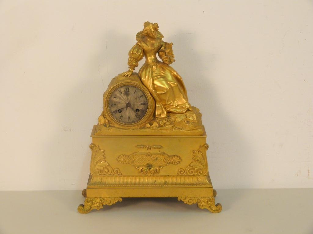 French Late 19th Century Mantle Clock