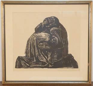 Kathe Kollwitz (German, 1867–1945) - Wood Cut