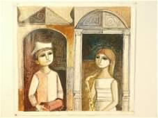Lucio Ranucci (Italian b.1925) - Oil on Canvas