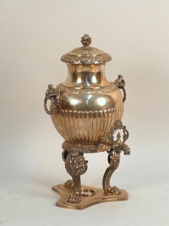 Austrian Silver Hot Water Urn