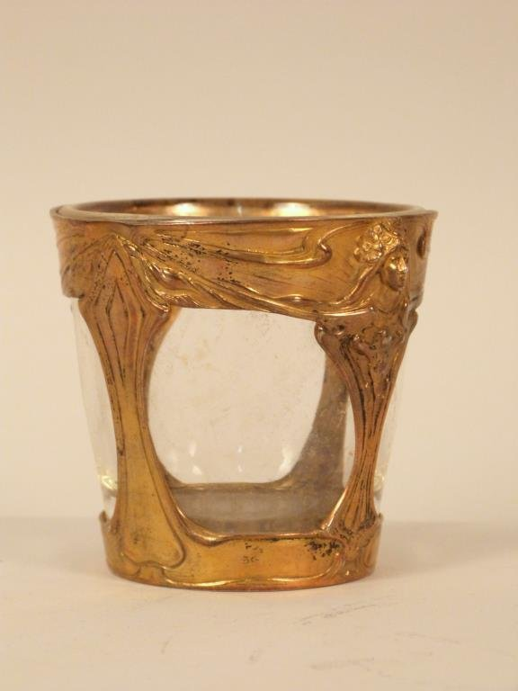 German Art Nouveau Silver Cup