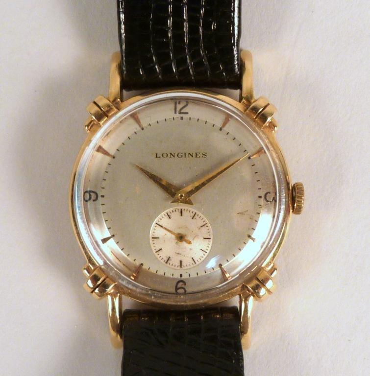 Longines 14K Gold Man's Watch