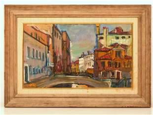Arbit Blatas (Lithuanian, 1908-1999) - Oil