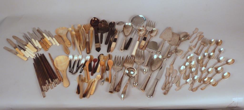 Assorted Flatware, 100+ Pieces