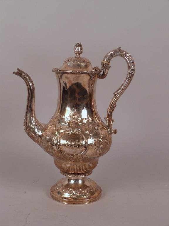 Wm. Gale & Son Sterling Silver Pitcher