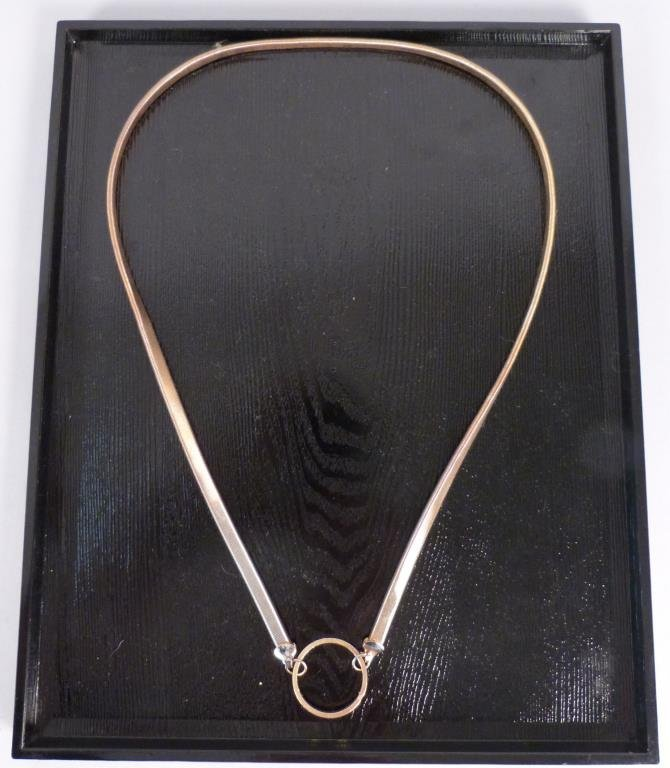 Avedon Flex Elastic Metal Necklace